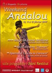 Repas et Projection de Carmen de Carlos Saura - Weekend Andalou avec l'Eloquente Compagnie