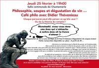 Café Philo avec Didier Thévinieau -Chaque personne peut-elle penser ce qu'elle veut ?